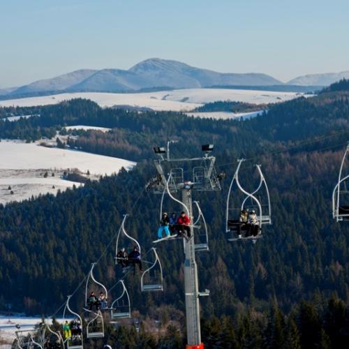 Widok ze stacji Tylicz.ski