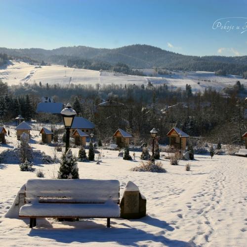 Zimowy poranek w Tyliczu